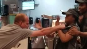 McDonald's fight screenshot