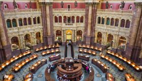 Interior view of the Library of Congress Thomas Jefferson Building