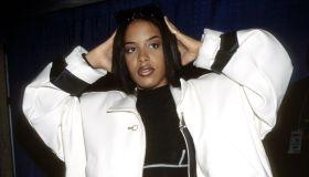 Urban Aid 1 Aaliyah (Photo by KMazur/WireImage)