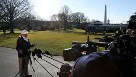 President Trump Departs The White House En Route To Texas For Visit To Border With Mexico