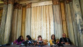Attorney Gloria Allred Holds A Press Conf. With Alleged R. Kelly Abuse Victim