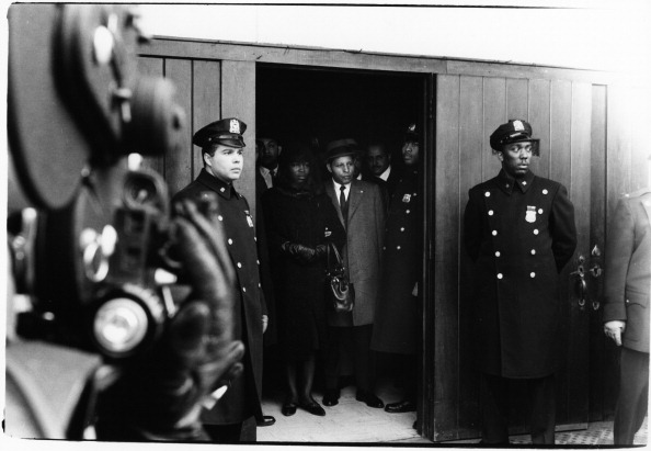 Malcolm X's Funeral