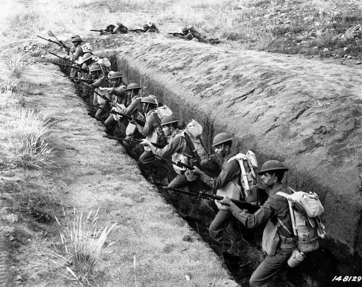 World War II 93rd Infantry