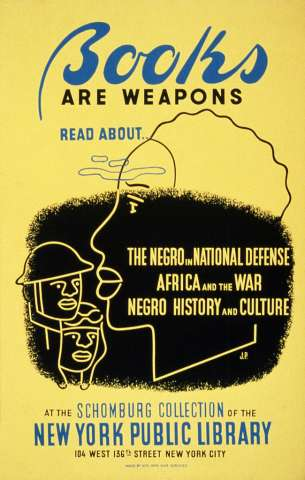 Books Are Weapons Poster