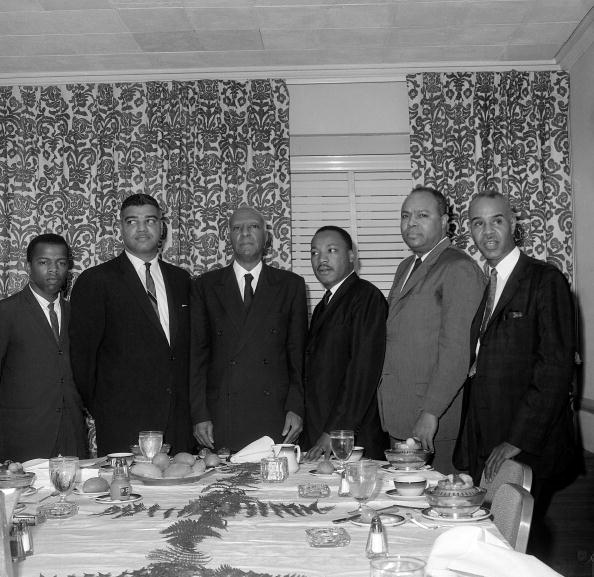 Martin Luther King and civil rights leaders