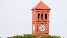 Hampton University clock tower.