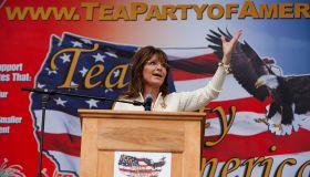 Tea Party Rally in Iowa with Sarah Palin