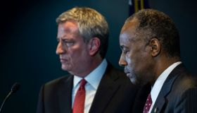 Secretary Of Housing And Urban Development Ben Carson Makes Announcement Regarding The New York City Housing Authority