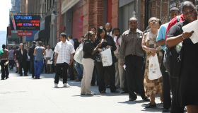 Job Fair Held In New York City