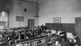 Chemistry Laboratory, Howard University, Washington DC, USA, 1900