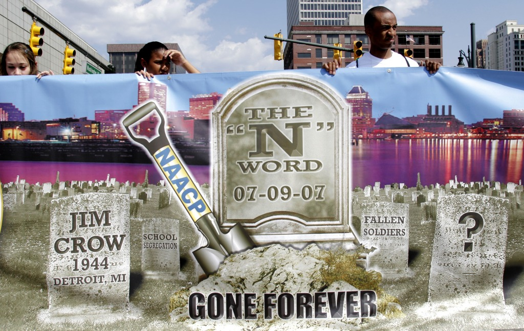 NAACP Holds Mock Funeral To Bury The 'N-Word'