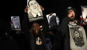 Activists Demonstrate In Sacramento Protesting Against Decision Not To Charge The Police Officers In Stephon Clark Shooting