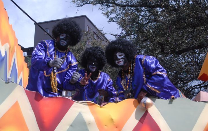 Mardi Gras 2017 Parade in New Orleans