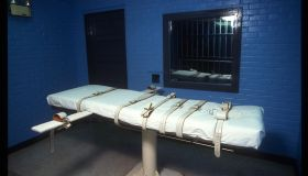 The Lethal Injection Death Chamber at Huntsville, Texas,