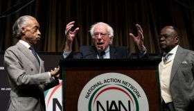 Presidential Candidates And Politicians Attend National Action Network Annual Convention