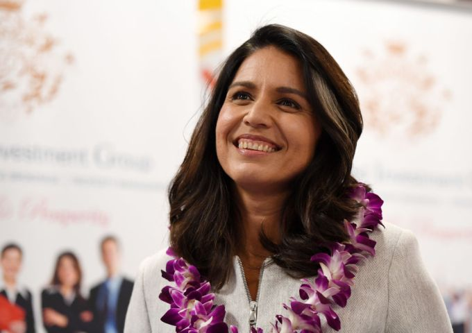 Rep. Tulsi Gabbard Holds A Meet-And-Greet In Las Vegas