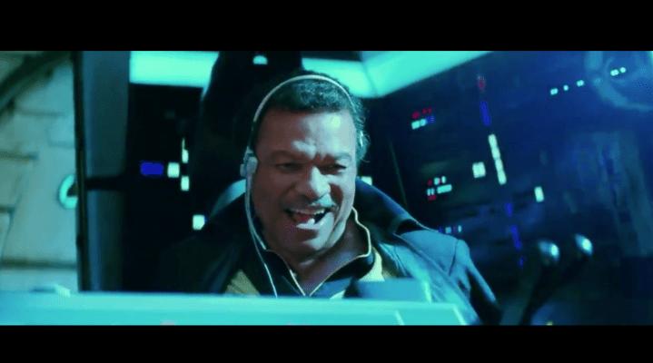 Billie Dee Williams Star Wars Episode IX Trailer