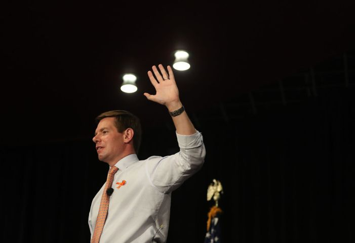 Rep. Eric Swalwell Begins Presidential Campaign With Town Hall On Gun Violence