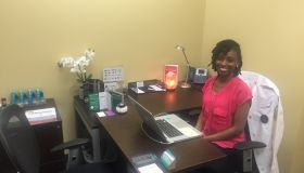 Melinda Toussaint, co-owner of MariCare Wellness in Maryland