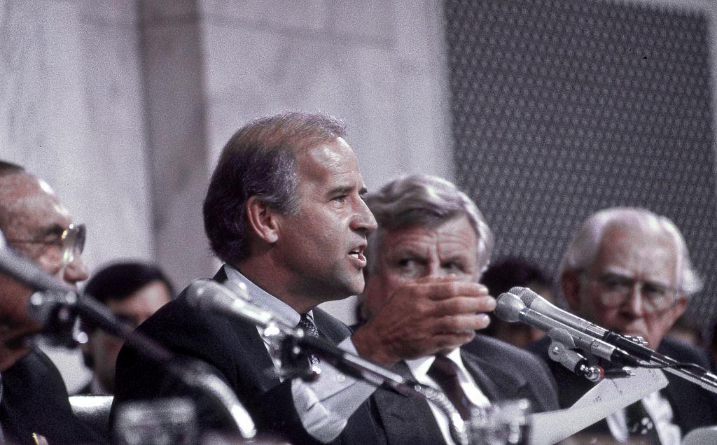Senator Joe Biden At Clarence Thomas Confimation Hearings