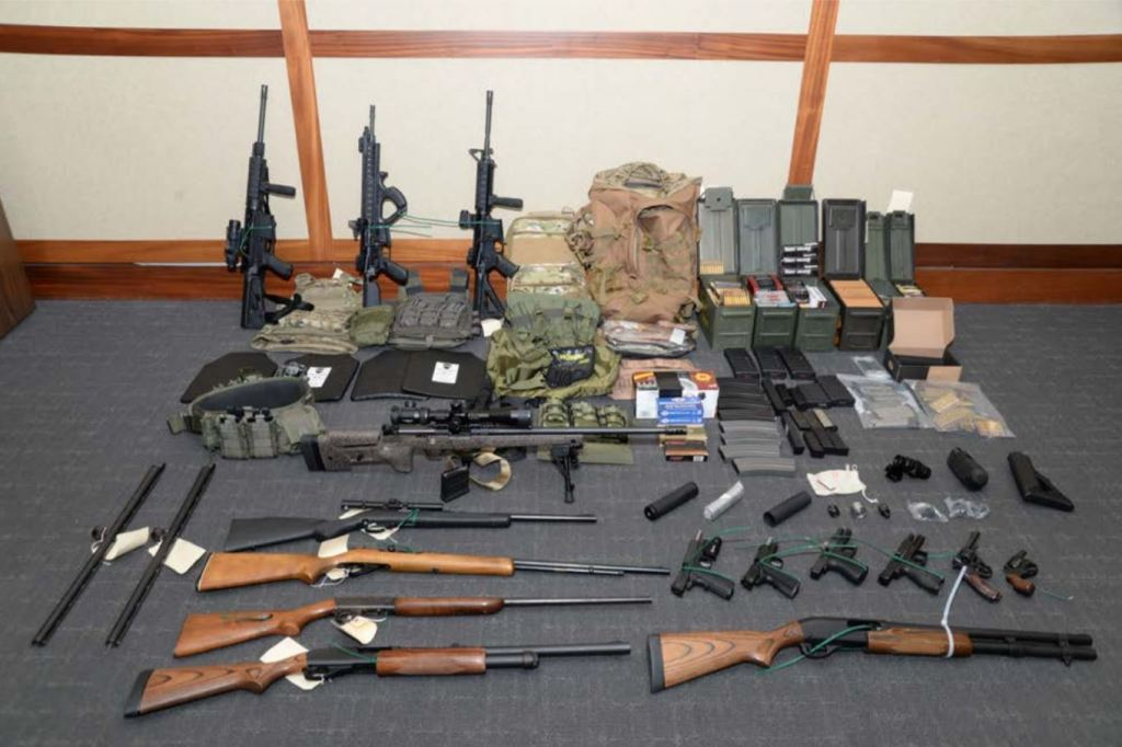 Court Hearing Held For Coast Guard Lt Accused Of Plotting Domestic Terrorism