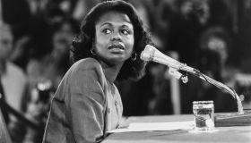 Anita Hill at Clarence Thomas Hearings