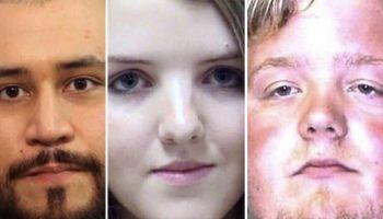 White criminals' mugshots