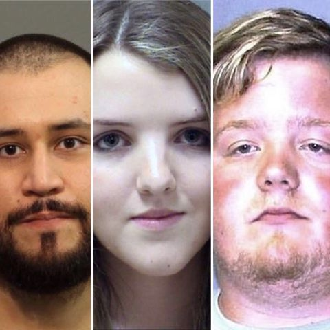 White criminals' mugshots