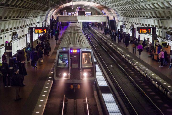 D.C. Metro Station