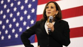Democratic Presidential Candidate Kamala Harris Holds Town Hall In New Hampshire
