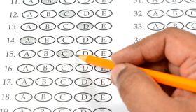 Multiple Choice Exam Paper