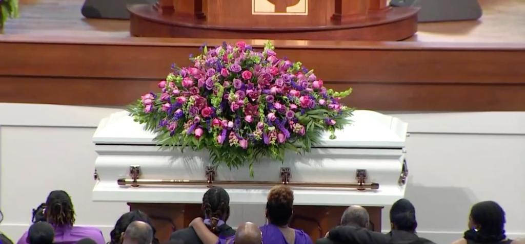 Pamela Turner's funeral at Lilly Grove Baptist Church in Houston