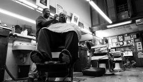 Brandee Sanders barber story photos