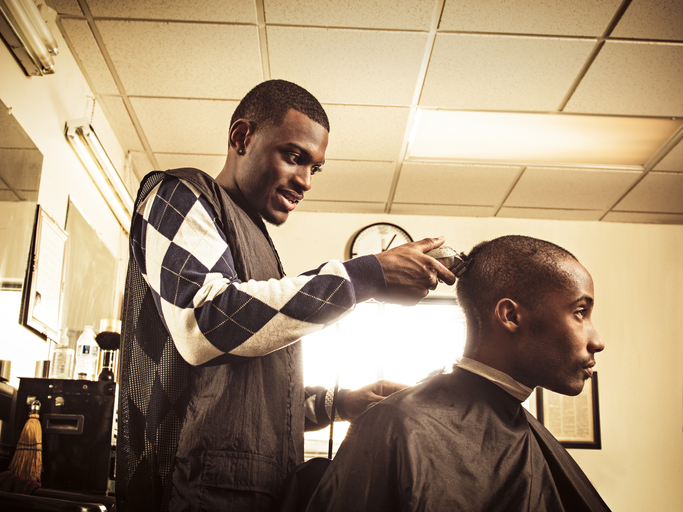 Image result for Black-Owned Barbershop Pays Off Debt For Students In Charlotte
