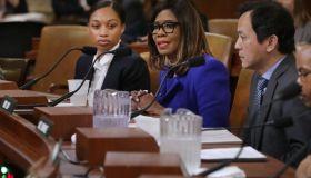 U.S. Track And Field Olympian Allyson Felix Testifies In House Hearing On Maternal Mortality