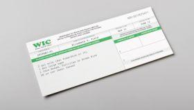 WIC welfare certificate