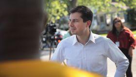 Buttigieg Attends a Community Peace Event as Funeral for Eric Logan is Being Held