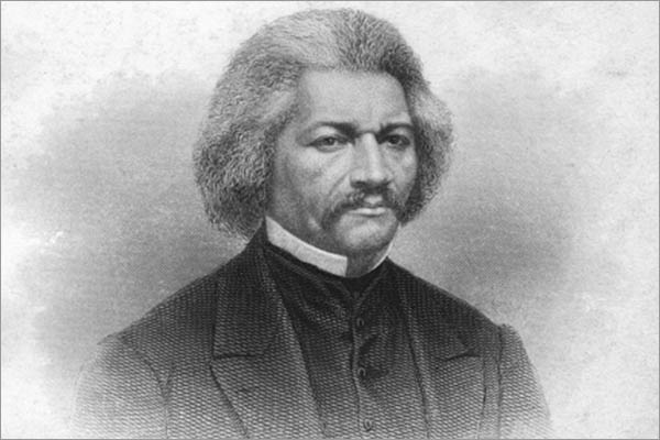 Frederick Douglass', circa 1868. Portrait of Frederick Douglass (1817-1895), American diplomat, abolitionist and writer. Son of a slave, he fled from slavery aged 21. Artist Alexander Hay Ritchie. (Photo by Print Collector/Getty Images)