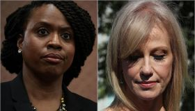 Ayanna Pressley and Kellyanne Conway
