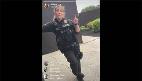 Montgomery County Police officer using n-word video