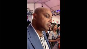 Charles Barkley at the Democratic Debate in Detroit, July 30, 2019