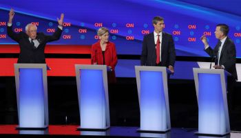 Democratic Presidential Candidates Debate In Detroit Over Two Nights