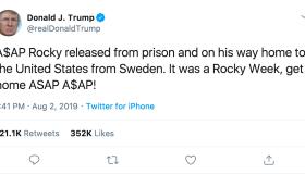 Trump Rocky Week Tweet