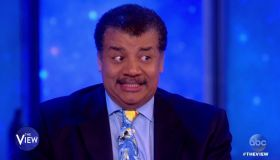 Neil deGrasse Tyson during an appearance on ABC's 'The View.'