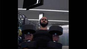 Colin Kaepernick workout video screenshot