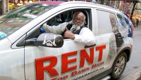 Jimmy McMillan promoting his Rent Is Too Damn High Party