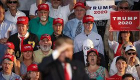 """Donald Trump Holds """"MAGA"""" Rally In Central Pennsylvania"""
