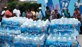 City Of Newark Distributes Bottled Water After High Levels Of Lead Found In Tap Water