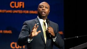 U.S. Senator Tim Scott (R-SC) speaking at the Christians...