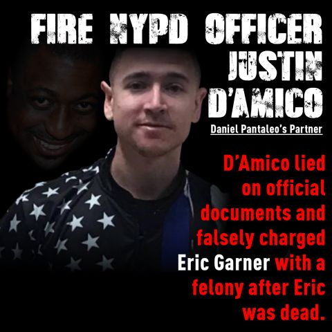 NYPD officers involved with Eric Garner's death